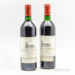 Chateau Lagrange 1990, 2 bottles