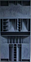 Anton B. Vizy (American, 1937-2016)      Two Wall Constructions: The Witness