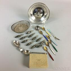 Twenty-three Pieces of Sterling Silver