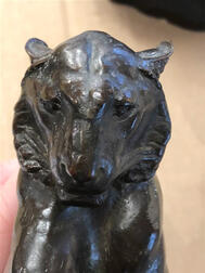 Alexander Phimister Proctor (act. America, 1860-1950)       Bronze Figure of the Princeton Tiger