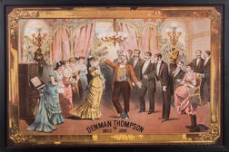 Theater Posters, Three Examples, 19th Century.