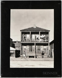 Walker Evans (American, 1903-1975)       House in the Negro Quarter, New Orleans, Louisiana