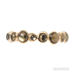 18kt Gold and Quartz Bracelet, Ippolita