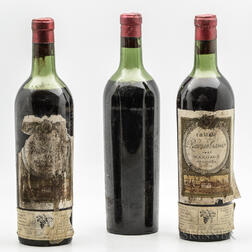 Chateau Rauzan Gassies 1937, 3 bottles