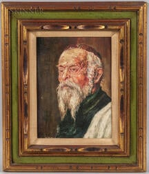 American School, 20th Century      Portrait of a Jewish Elder