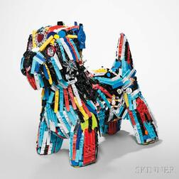 Robert Bradford Sculpture Dog-E-Dog