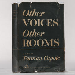 Capote, Truman (1924-1984) Other Voices, Other Rooms.
