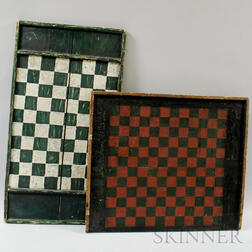 Two Painted Game Boards