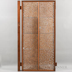 Mid-Century Architectural Screen