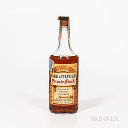 Park & Tilford Private Stock 4 Years Old, 1 4/5 quart bottle Spirits cannot be shipped. Please see http://bit.ly/sk-spirits for more...