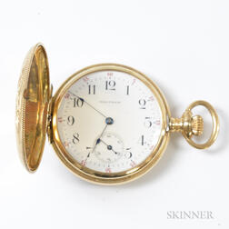 Waltham Gold-filled Hunter-case Pocket Watch