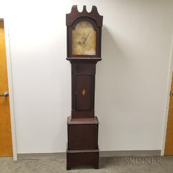 """Porter Contract"" Wooden Works Tall Clock"