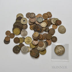 Group of American and Foreign Coins