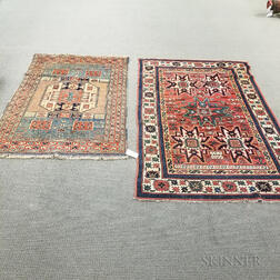 Two Contemporary Turkish Area Rugs