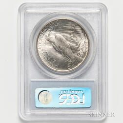 1934 Peace Dollar, PCGS MS64.     Estimate $200-300
