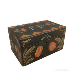 Painted Pine Box