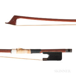 Silver-mounted Violoncello Bow, Lynn Hannings and George Rubino
