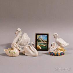Six Swan-related Items