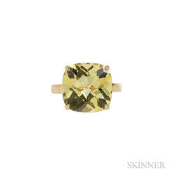 "18kt Gold and Lemon Quartz ""Sparklers"" Ring, Tiffany & Co."