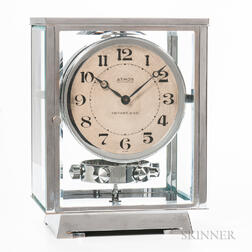 Jaeger LeCoultre Brevets J. Reutter Chrome-plated Tiffany & Co. Atmos Clock