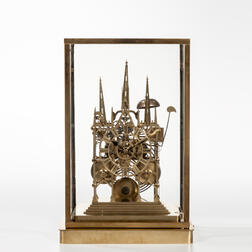 Litchfield Cathedral Striking Skeleton Clock