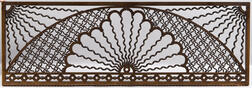 Victorian Oak Fretwork Panel