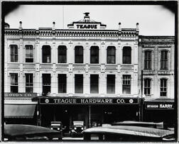Walker Evans (American, 1903-1975)       Teague Hardware Company Building, Selma, Alabama