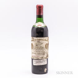 Chateau Cheval Blanc 1962, 1 bottle