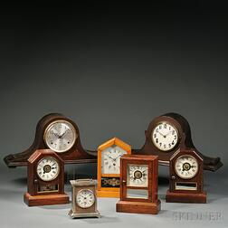 Seven Connecticut Shelf Clocks