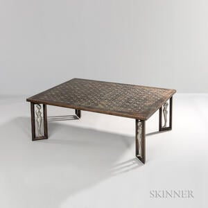 Philip and Kelvin LaVerne (1908-1988) Coffee Table