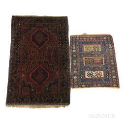 Two Sarouk Rugs