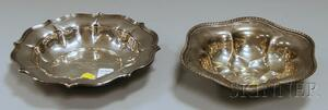 Two Shaped Sterling Silver Bowls