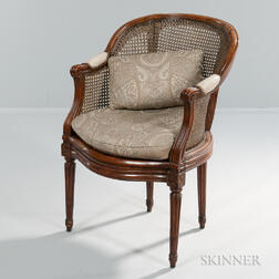 French Fruitwood Bergere