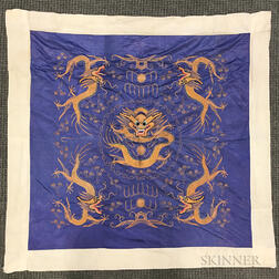 Embroidered Silk Panel