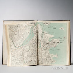 Atlas of Massachusetts  , Two Editions.