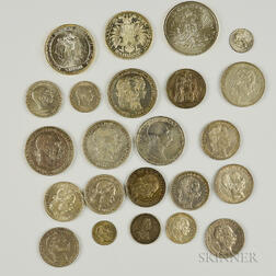 Small Group of Austrian and Hungarian Coins