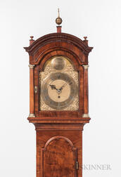 Diminutive London Time and Alarm Longcase Clock