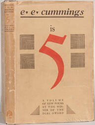 Cummings, Edward Estlin (1894-1962) is 5  , Signed First Edition.