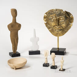 Collection of Ancient Greek Sculpture Museum Replicas