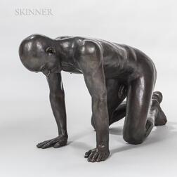 American School, 21st Century      Crawling Figure