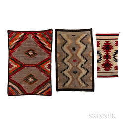 Three Navajo Textiles