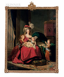 Studio of Elisabeth Louise Vigée Le Brun (French, 1755-1842)      Marie-Antoinette and her Children