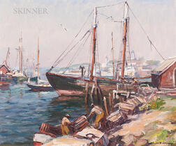 Emile Albert Gruppé (American, 1896-1978)      The Old Timer