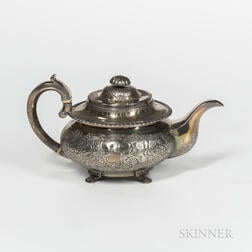 William IV Irish Sterling Silver Teapot