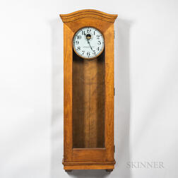 Standard Electric Time Master Clock Case