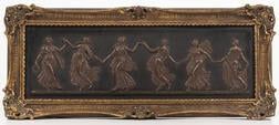 Wedgwood Bronzed Black Basalt Plaque