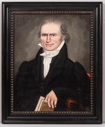 Erastus Salisbury Field (Massachusetts, 1805-1900)      Portrait of a Gentleman