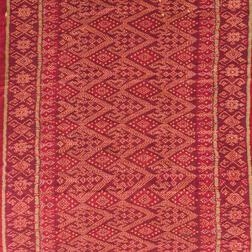 Two Ikat Textiles