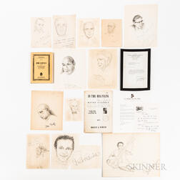 20th Century Composers Signed Sketches and Related Items, 1964-1983.