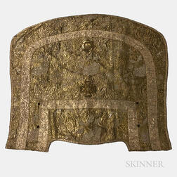 Gold and Silver Embroidered Cape
